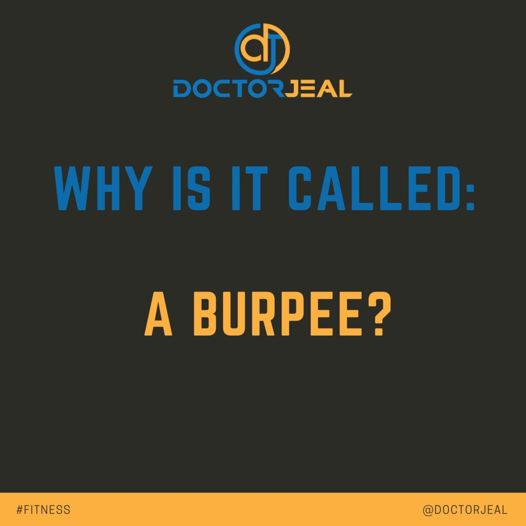 Why is it called a burpee_