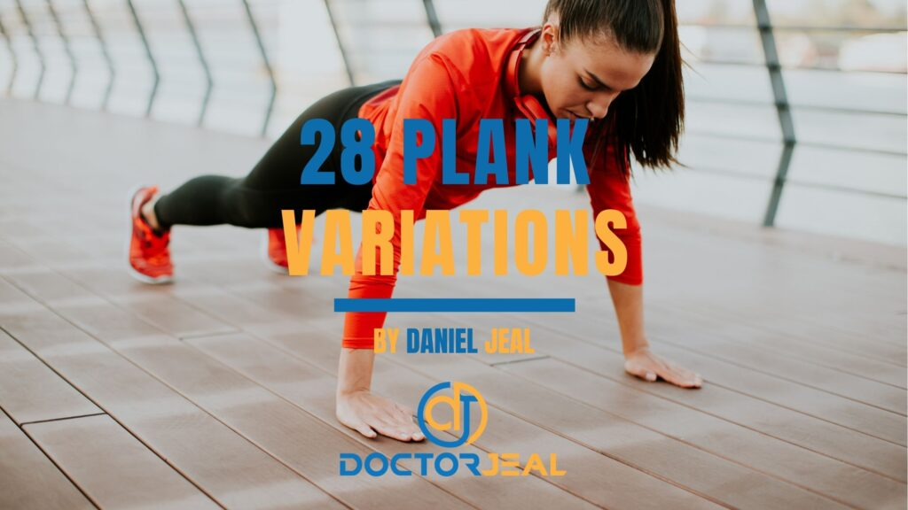 28 Plank Variations Female Title