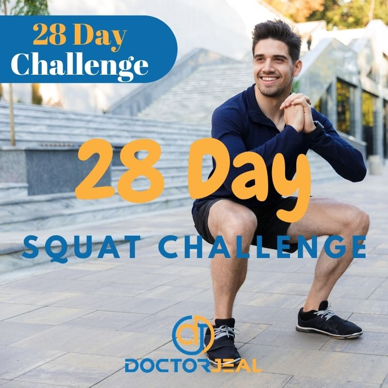 28 Day Squat Challenge Title Male