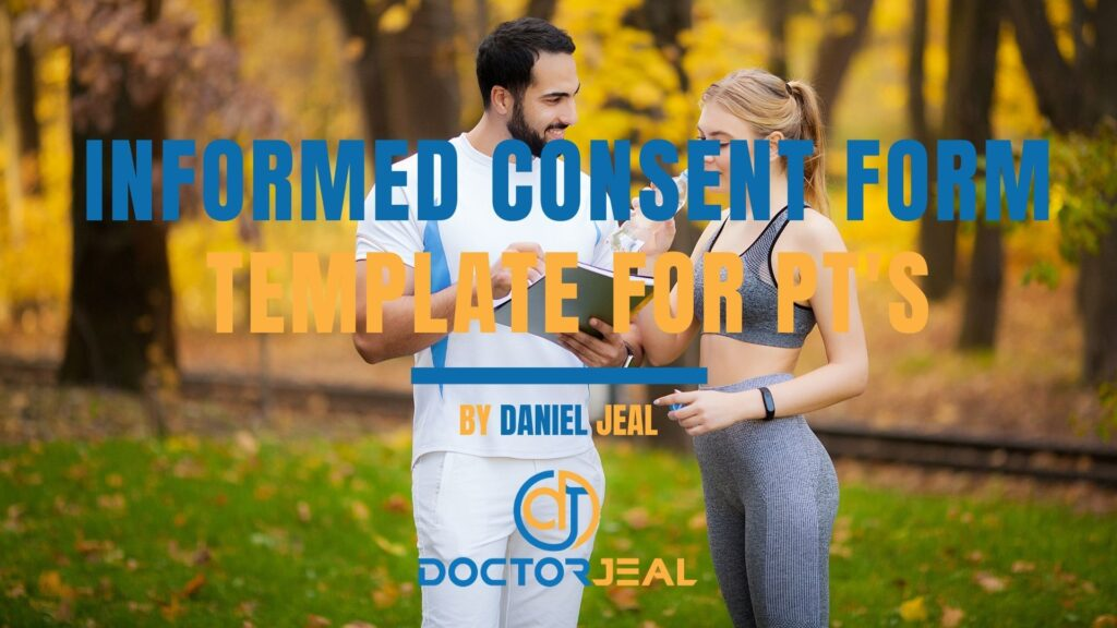 Informed Consent Form Template for Personal Trainers