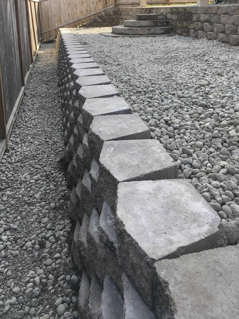 T retaining wall 2