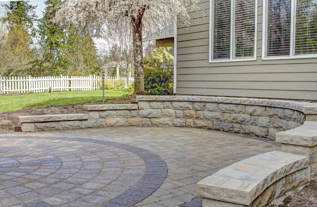 Copy of belgard belair wall