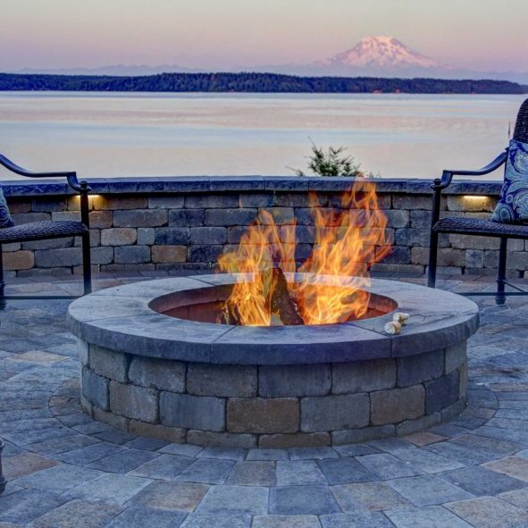 Fire pits are the perfect gathering place for friends and family