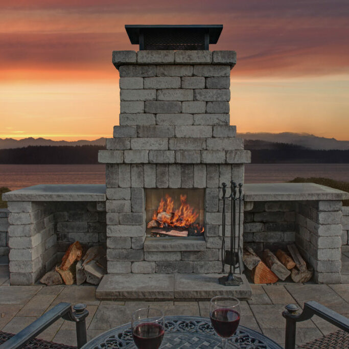 Fireplaces are a perfect addition to your outdoor living space
