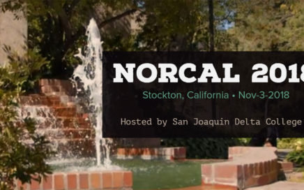 2018 NorCal is November 3, 2018, hosted by San Joaquin Delta College.
