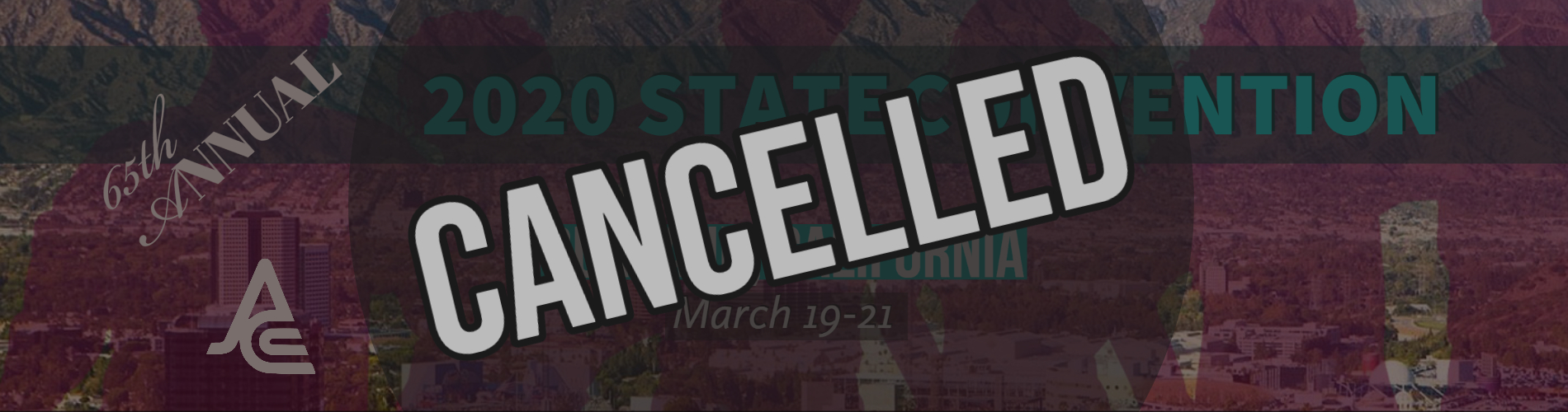2020 JACC State Convention cancelled