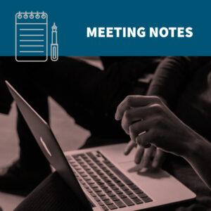 FI meeting minutes