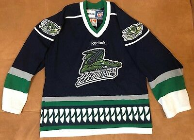 Authentic-Florida-Everblades-ECHL-Hockey-Jersey-Size-Youth
