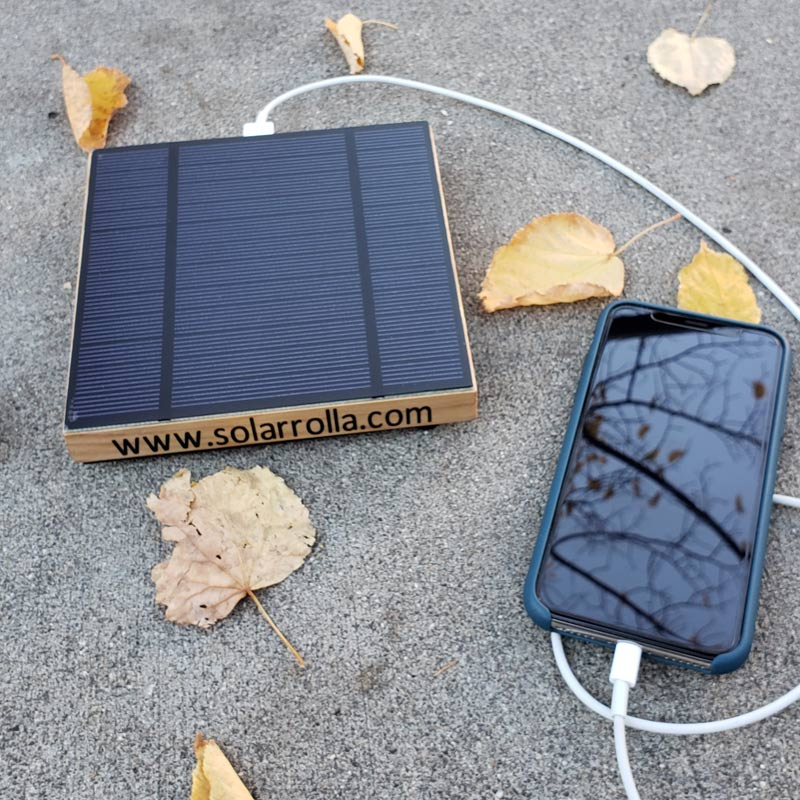 Solarrolla Currentcy Cell Phone Charger