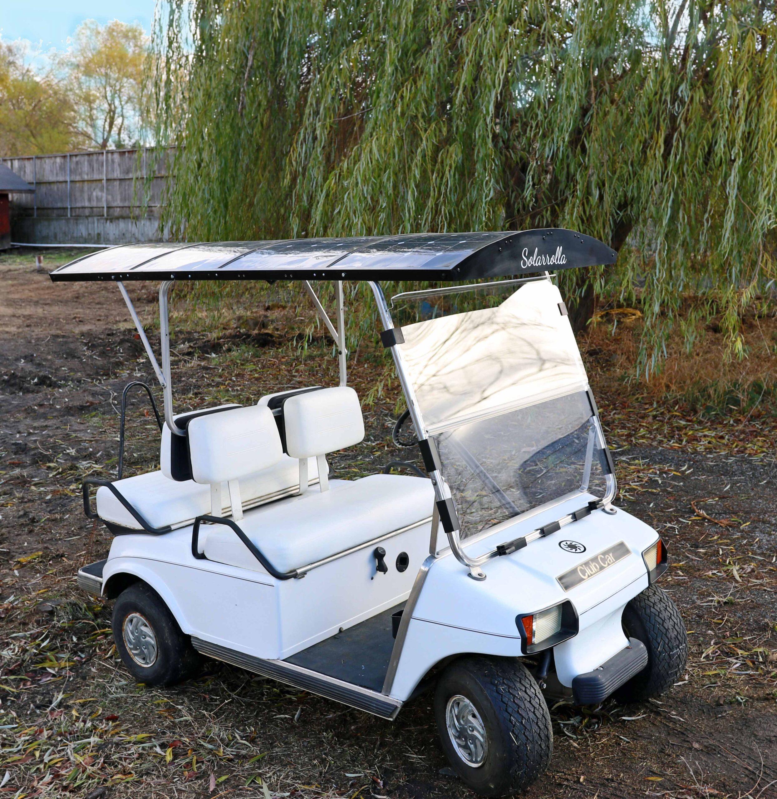 Electric Club Car, Solar Powered Golf Cart