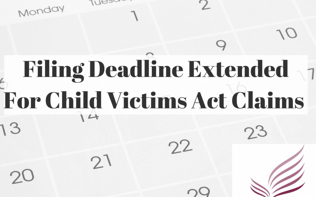 Child Victims Act Look Back Period Extended to 1/14/2021