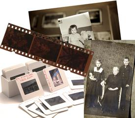 Photos, slides, and negatives