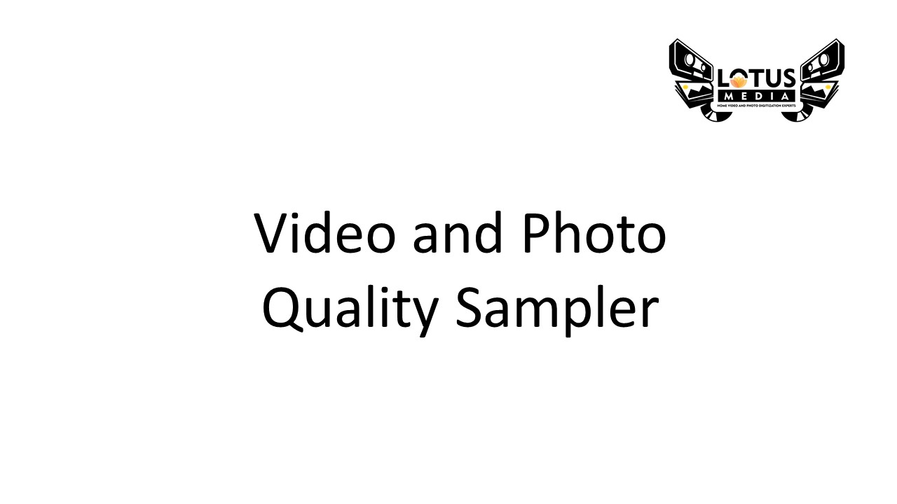 Video and Photo Sampler