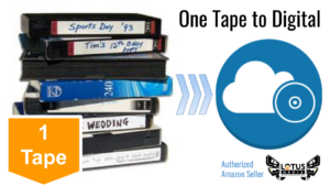 One (1) tape