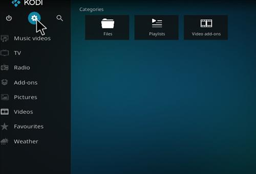 How To Enable Unknown Sources in KODI 17 Krypton step 1