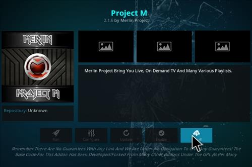 how to Install project M with screenshots step 18
