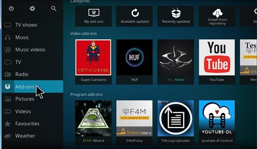 How to Install Super Cartoons Add-on Kodi 17.1 Krypton step 7