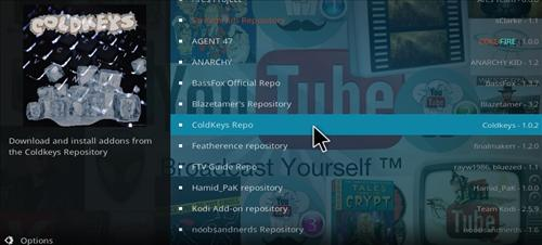 How to Install ColdKeys Repository Kodi 17.1 Krypton step 16