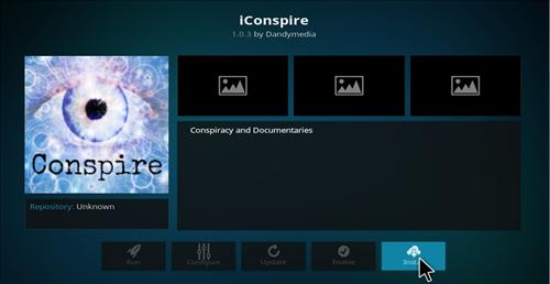 How to Install Conspire Add-on Kodi 17.1 Krypton step 17