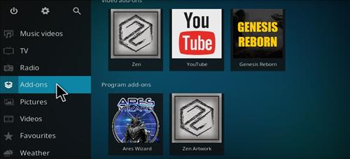 How to Install Genesis Reborn Add-on Kodi 17.1 Krypton step 8