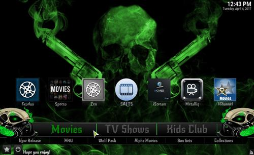 How to Install Kryptic Build Kodi 17.1 Krypton pic 1
