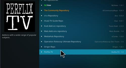 How to Install Perflix TV Repository Kodi 17.1 Krypton step 15