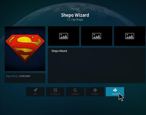 How to Install Shepo Build Kodi step 18