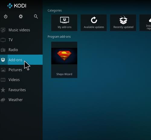 How to Install Shepo Build Kodi step 20