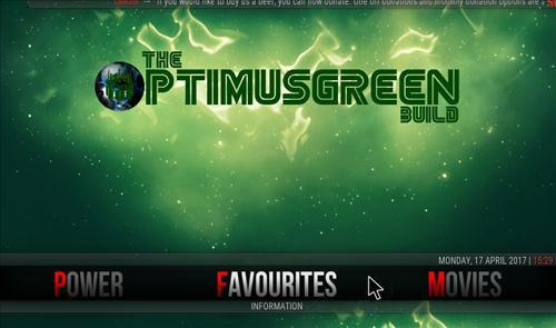 How to Install The Optimus Green Build Kodi 17.1 Krypton pic 3