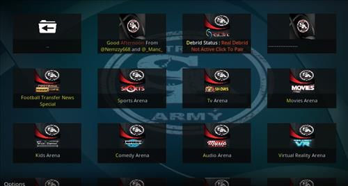 screenshots stream army
