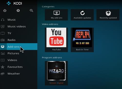How to Install Back in the Time Kodi Add-on with Screenshots step 8