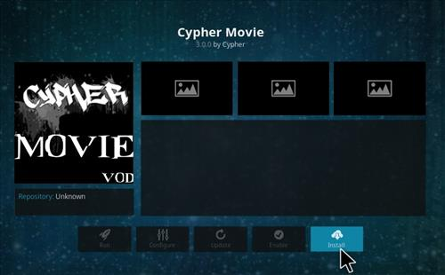 How to Install Cypher Movie VOD Add-on Kodi 17.1 Krypton step 18