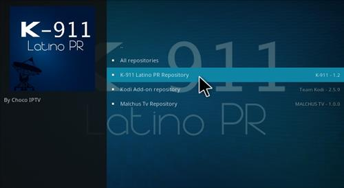 How to Install K-911 Latino PR Add-on Kodi 17.1 Krypton step 15