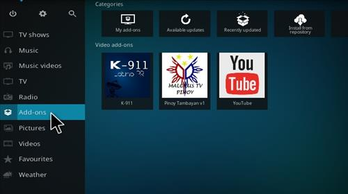 How to Install K-911 Latino PR Add-on Kodi 17.1 Krypton step 8