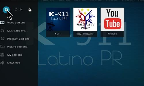 How to Install K-911 Latino PR Add-on Kodi 17.1 Krypton step 9
