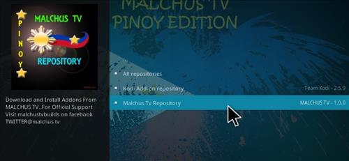 How to Install Pinoy Tambayan v1 Add-on Kodi 17 Krypton