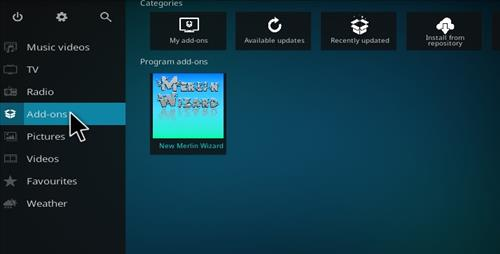 How to Install Merlin Build Kodi 17.1 Krypton step 20