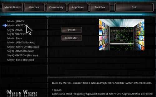 How to Install Merlin Build Kodi 17.1 Krypton step 24