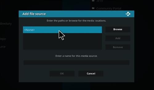 How to Install New Merlin Wizard Kodi 17.1 Krypton step 4