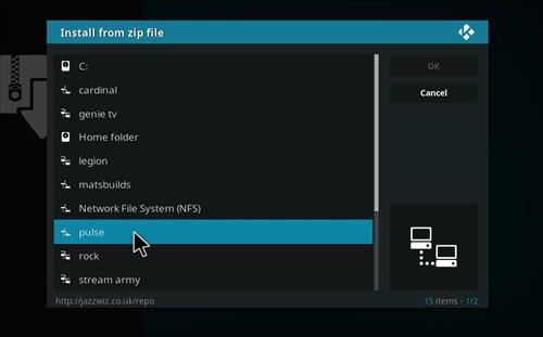How to Install Now Music USA Add-on Kodi 17.6 Krypton step 11