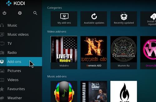 How to Install Now Music USA Add-on Kodi 17.6 Krypton step 8