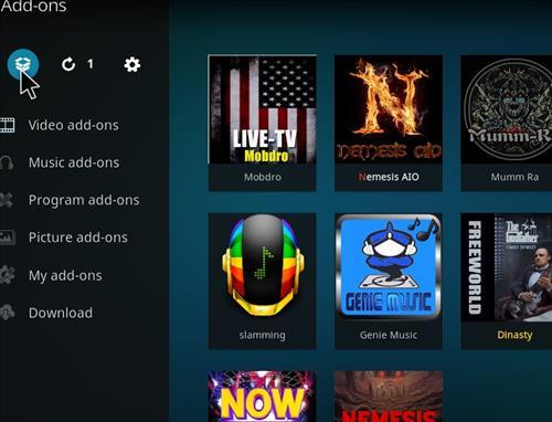 How to Install Now Music USA Add-on Kodi 17.6 Krypton step 9