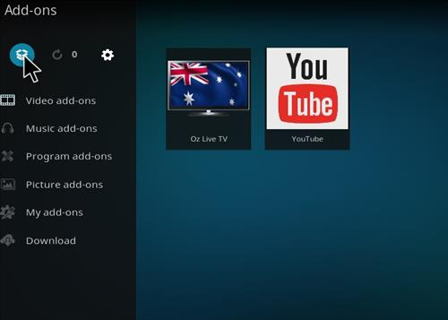 How to Install Oz Live TV Add-on Kodi 17 Krypton step 9