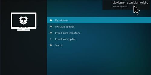 How to Install dk-xbmc-repaddon Add-on Repository step 15