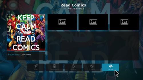 How to Install Read Comics Add-on Kodi 17 Krypton step 20