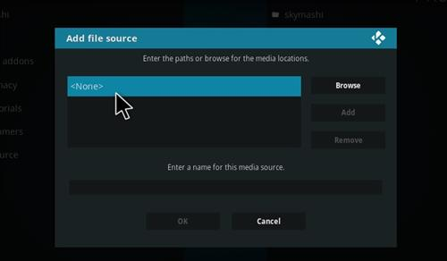 How to Install SkyMashi TV Wizard Kodi 17 Krypton step 4