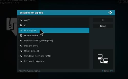 How to Install Fire Fitness Kodi Add-on with Screenshots step 11