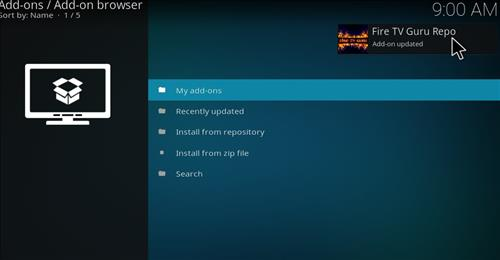 How to Install Fire Fitness Kodi Add-on with Screenshots step 13