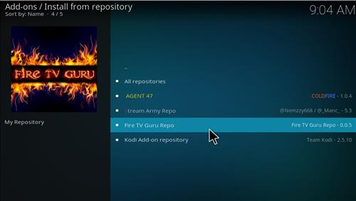 How to Install Fire Fitness Kodi Add-on with Screenshots step 15