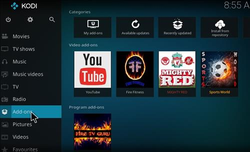 How to Install Fire Fitness Kodi Add-on with Screenshots step 8
